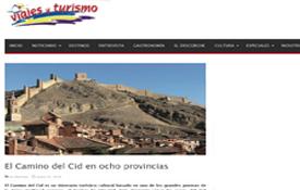 Amplio reportaje sobre el Camino del Cid de la revista Viajes y Turismo