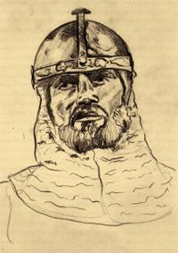Imagen de una de las láminas cidianas que ha lanzado la editorial Sauré