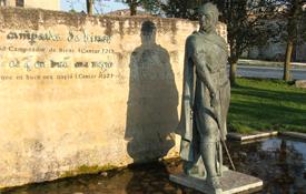 Imagen del Cid en Vivar del Cid (Burgos)