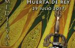 """Cartel de """"La Leyenda del Cid"""" de Huerta de Rey, Burgos"""
