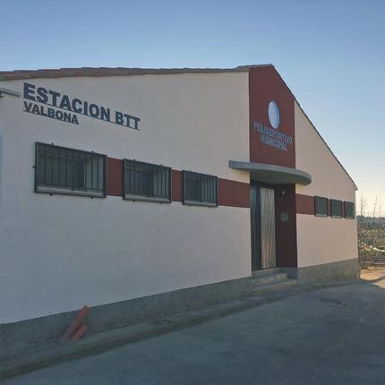 Estación BTT Valbona Teruel
