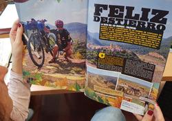 Reportaje de la revista BIKE dedicado al Camino del Cid