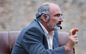 Santiago Escura, presidente de la Asociación Cultural Mío Cid