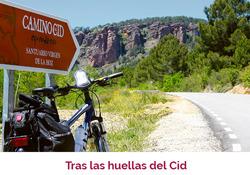 Portada del reportaje sobre el Camino del Cid que publica la newsletter de Argi