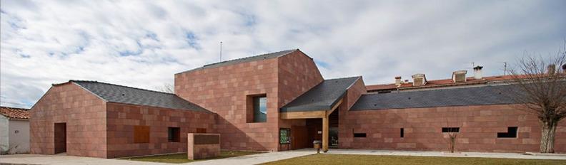 El Centro de Interpretación de la Naturaleza de Orea se construyó sobre un antiguo sequero
