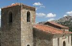 Iglesia de Peñacoba, en Burgos. La Asociación Cultural Serralba plantea representar en la localidad una obra de teatro inspirada en los pasajes del Cantar de mío Cid