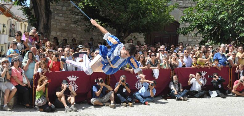 Una de las danzas del Sexenni que tendrá lugar del 18 al 24 de agosto (Foto: Tourist Info Morella)