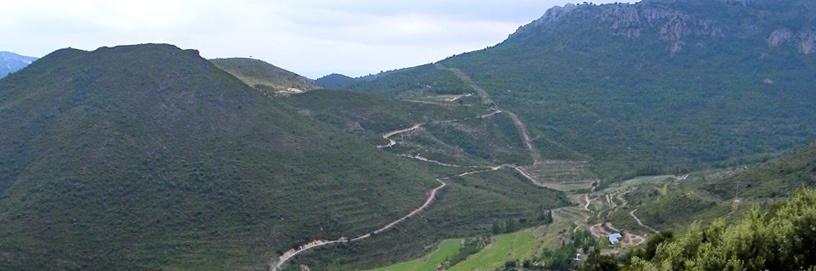 Caudiel, Castellón. UTM Desarrollos.