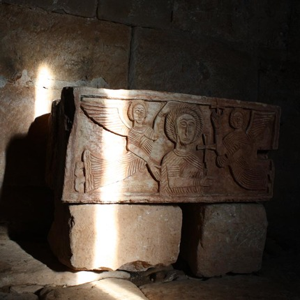 Ermita visigótica de Quintanilla de las Viñas, Burgos / ALC.