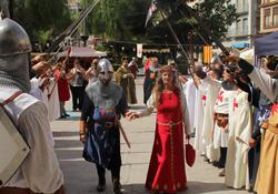 Imagen de la primera edición de las Jornadas de la Reconquista de Burriana