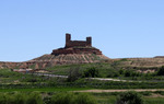 Castillo fronterizo de Montuenga de Soria, en Soria / ALC.