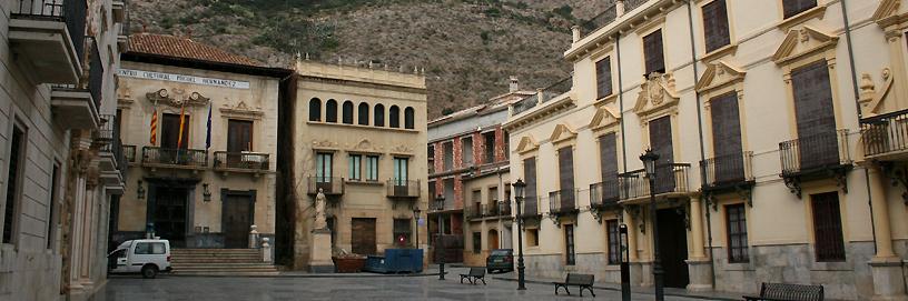 Orihuela está declarada conjunto histórico artístico.