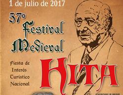 Cartel del Festival Medieval de Hita