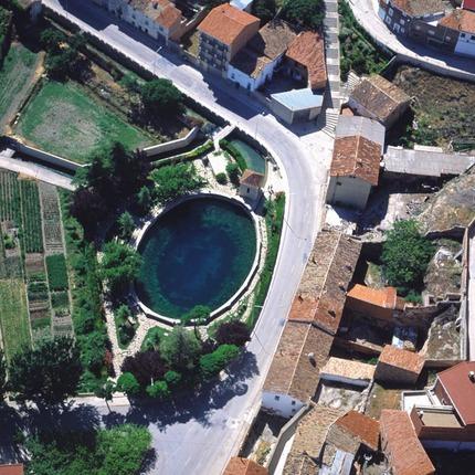 El pozo artesiano de Cella (Teruel) es uno de los más grandes de Europa / Diputación de Teruel.