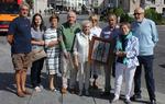 La Asociación Cidiana Tierra de Pinares de Quintanar de la Sierra, en Burgos, recogió el Álvar Fáñez en 2017
