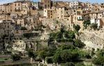 El pueblo de Bocairent se halla enclavado en la Sierra de Mariola, en Valencia / ALC