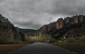 El acceso norte al cañón del río Gallo