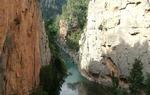 Estrechos del río Mijares, en Castellón / ALC.