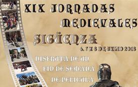 Las Jornadas Medievales de Sigüenza se celebrarán del 6 al 8 de julio