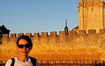 Su compañera de viaje, la fotógrafa Corina Arranz, en una imagen muy similar