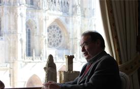 El catedrático e historiador, Javier Peña