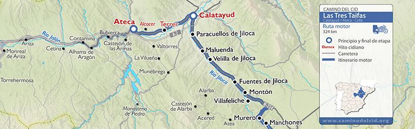 Cabecera mapa Motor Tres Taifas
