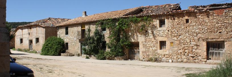 Calles de Abanco, Soria.