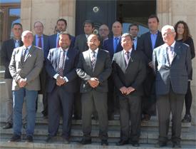 Asistentes al Consejo Rector de Soria