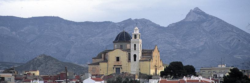 Monforte del Cid, Alicante. Diputación de Alicante.