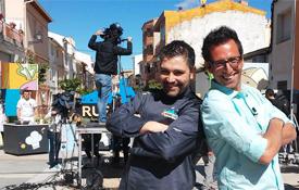 Presentadores de Rural Chef, programa que emite Aragón Tv