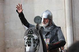 Un Cid triunfante en una de las últimas ediciones del Fin de Semana Cidiano