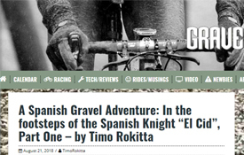 Reportaje de Timo Rokitta en gravelCyclist.com