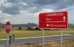 Señales de carretera del Camino del Cid en la provincia de Alicante / ALC