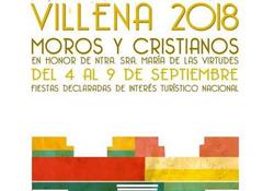 Las fiestas de Moros y Cristianos de Villena tendrán lugar del 4 al 9 de septiembre