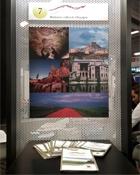 Panel de las rutas culturales en Top Resa, París