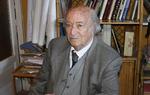 El profesor Manuel Criado de Val en su casa de Madrid donde nos recibió para mantener con él la entrevista