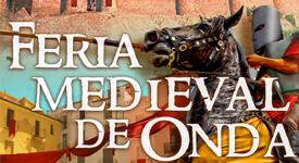 Cartel de la Feria Medieval de Onda 2017