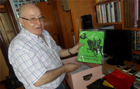El coleccionista cidiano José Luis Fernández