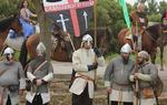 Los Caballeros de Ulver, también presentes en el evento