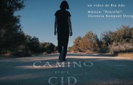 """Imagen del vídeo ganador del I Concurso de Vídeos Camino del CId. Corresponde al vídeo """"Tu Camino"""", de María Perlado. Vídeo grabado íntegramente en Castillejo de Robledo (Soria)"""