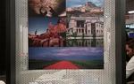 Espacio informativo de los cinco itinerarios turístico culturales dentro del stand de Turespaña