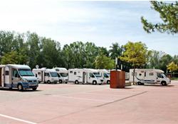 Área de autocaravanas en Calatayud, Zaragoza (Imagen: AreasAc)