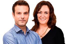 Inma Pardo y Santiago Botella, de Ser Viajeros Comunidad Valenciana