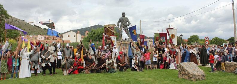 La Asociación Cultural Mío Cid de El Poyo del Cid ha entregado el Premio Campeador al Consorcio Camino del Cid