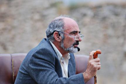 El presidente de la Asociación Cultural Mío Cid, Santiago Escura