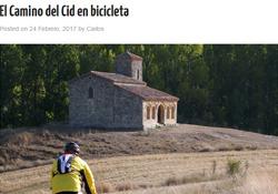 El blog conalforjas.com recorre el Camino del Cid
