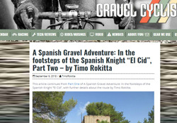 Segunda entrega del reportaje de Timo Rokitta sobre el Camino del Cid publicado en la web Gravel Cyclist