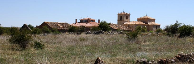 Vista de Abanco, Soria.
