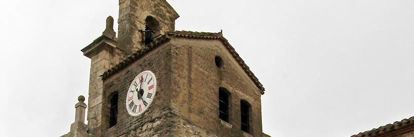 Torre de la iglesia de Cardeñajimeno