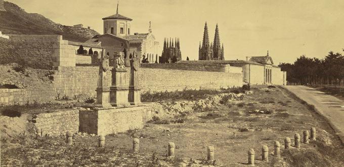 Imagen del Solar del Cid hacia finales del siglo XIX (Foto: Colección Asociación Ego Ruderico)